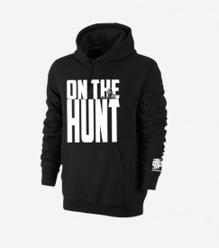 On The Hunt Black Hoodie