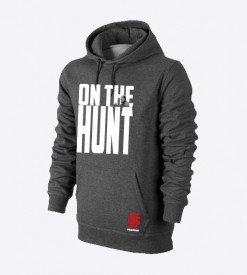 On The Hunt Charcoal Hoody