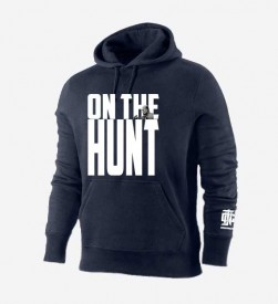 On The Hunt Navy hoodie