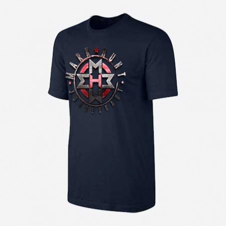 Shield Navy Tee