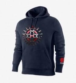 Shield Navy hoodie
