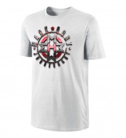 Shield White Tee