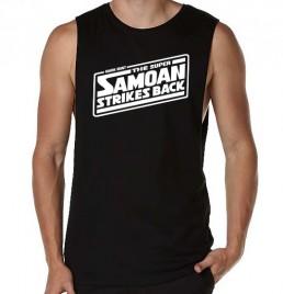 Super Samoan Black Tank
