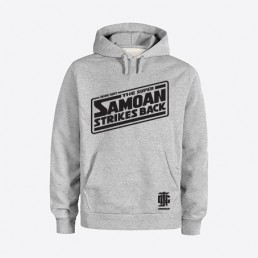 Super Samoan Grey Hoodie